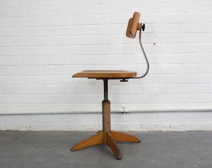 German Desk Chair By Ama Elastik Circa 1930s