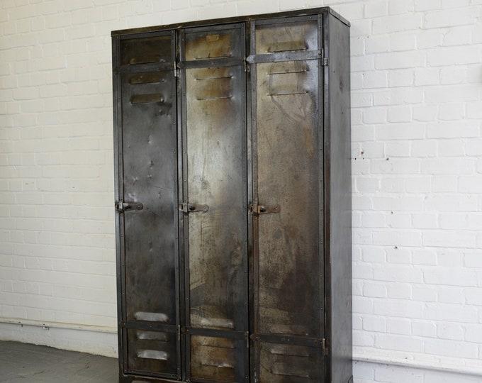 Early 20th Century Industrial Lockers By Ateliers Marcadet Paris