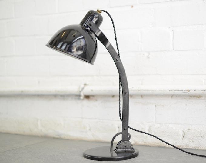 Modernist Desk Lamp By Schneider Circa 1930s