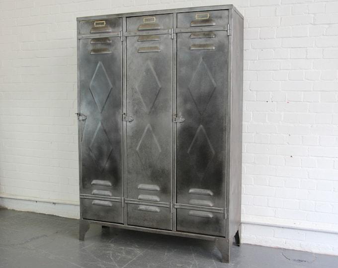 Belgian Industrial Lockers Circa 1930s