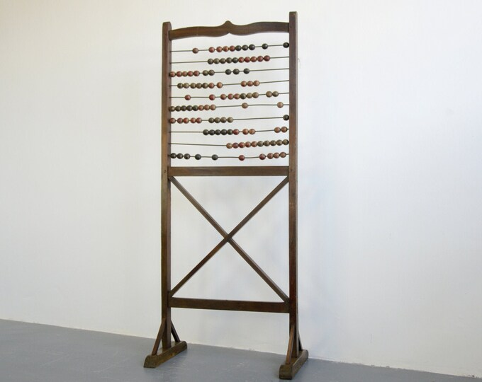 19th Century Teachers Abacus Circa 1900