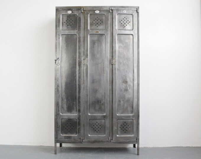 Industrial Lockers By Carl Renner Circa 1930s