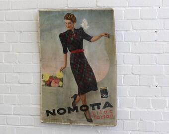 Department Store Nomotta Advertising Circa 1940s