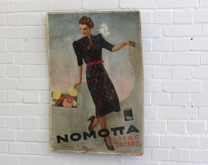 Department Store Nomotta Advertising Circa 1940s