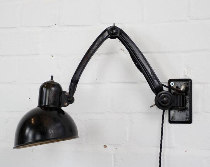 Rare Model 6716 Kaiser Idell Industrial Task Lamp Circa 1930s