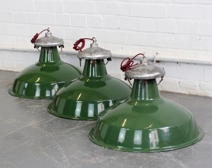 Munitions factory Lights By Benjamin Circa 1940s