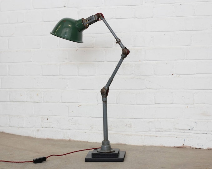 Industrial Table Lamp By Dugdills Circa 1930s