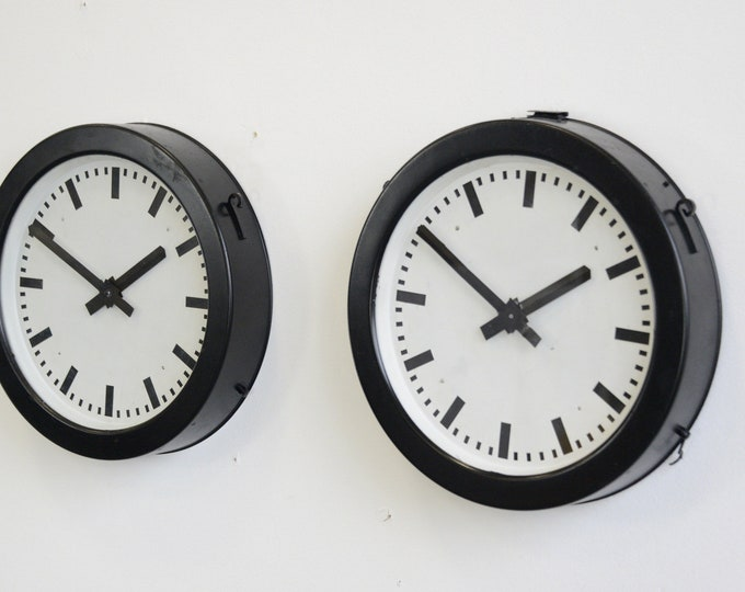 Factory Clocks By Bohmeyer Circa 1940s