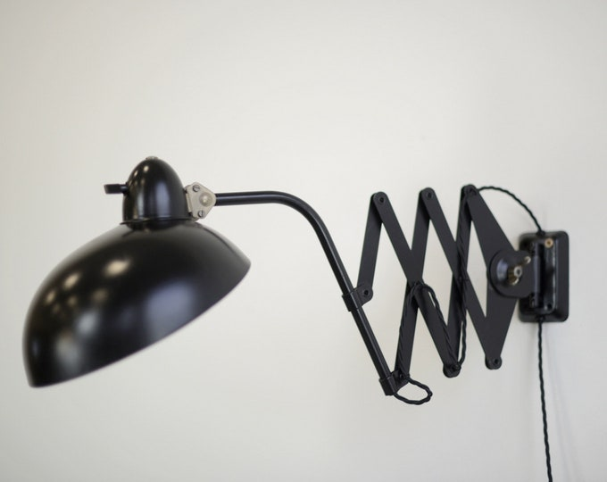 Scissor Lamp By Hala Zeist Circa 1930s