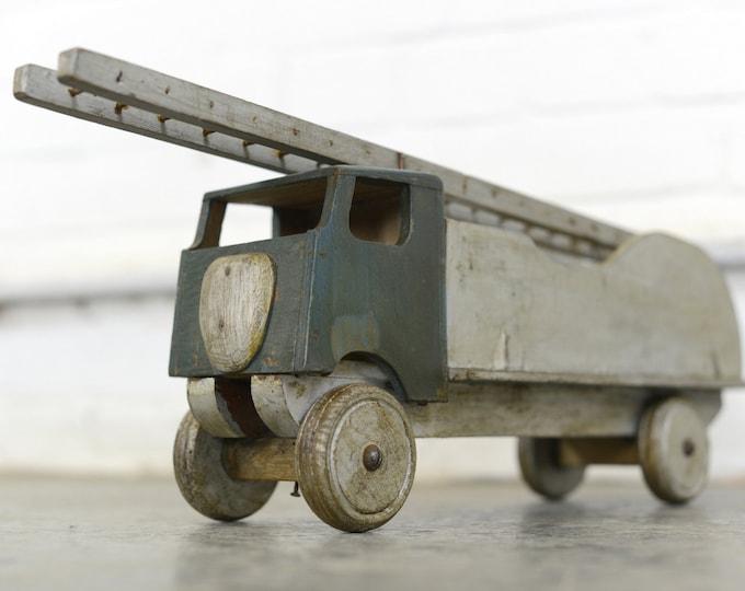 Scratch Built Wooden Toy Truck Circa 1930s