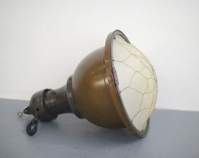 Large Copper Church Light Circa 1910