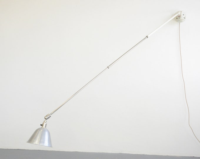 Telescopic Task Lamp By Johan Petter Johansson For Triplex 1920s