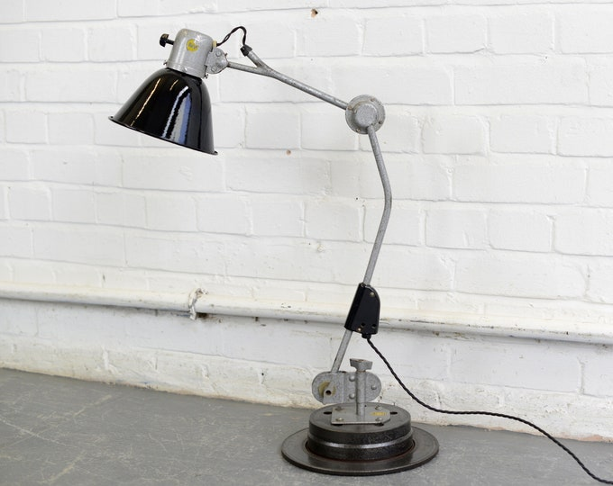 Industrial Desk Lamp By Reif Circa 1950s