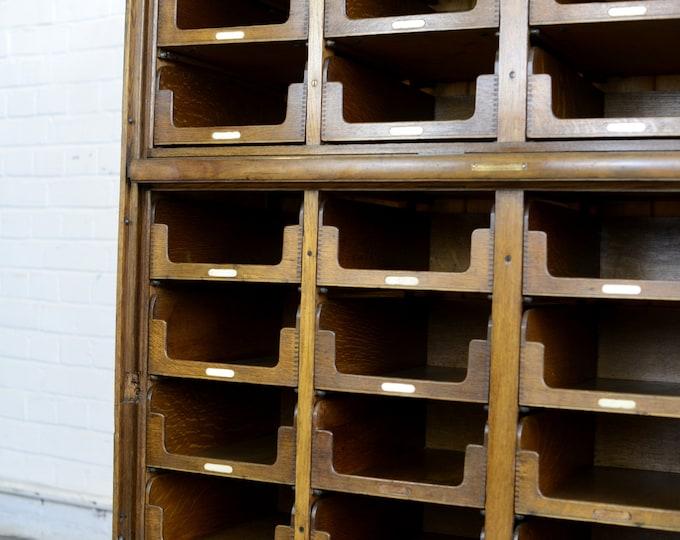 Haberdashery Cabinet By E Pollard & Co Circa 1910