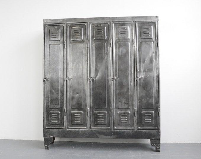 German Industrial Lockers Circa 1930s