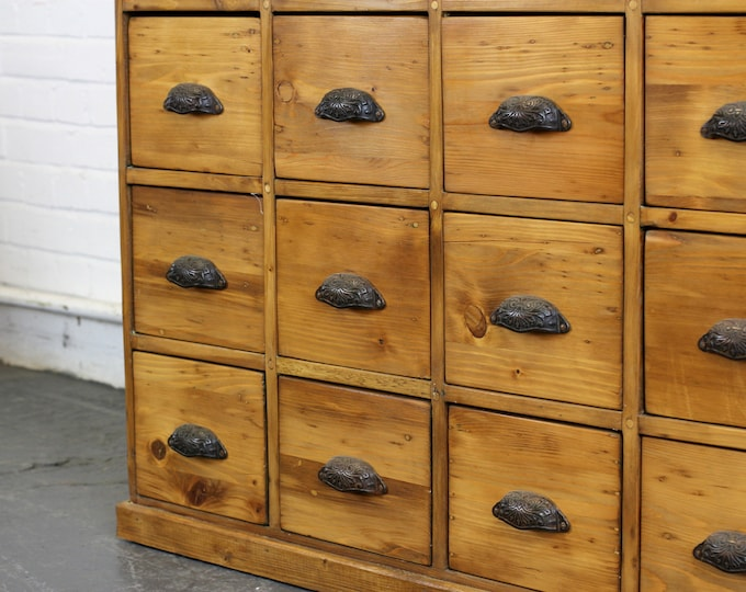 Early 20th Century Dutch Hardware Store Drawers