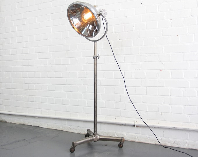 Floor Standing French Surgeons Lamp Circa 1950's