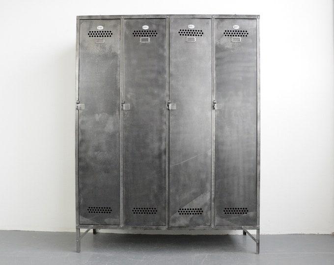 Industrial Lockers By Otto Bruckner Circa 1930s