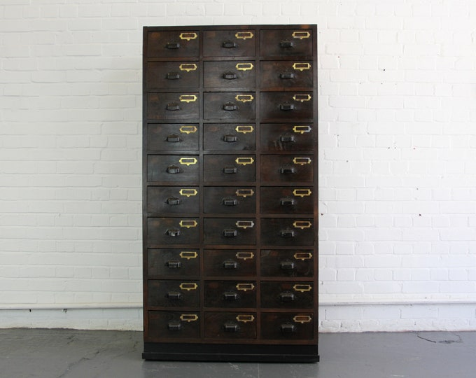 Early 20th Century French Workshop Drawers Circa 1910