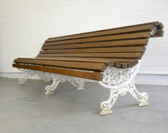 Victorian English Country House Bench Circa 1860s