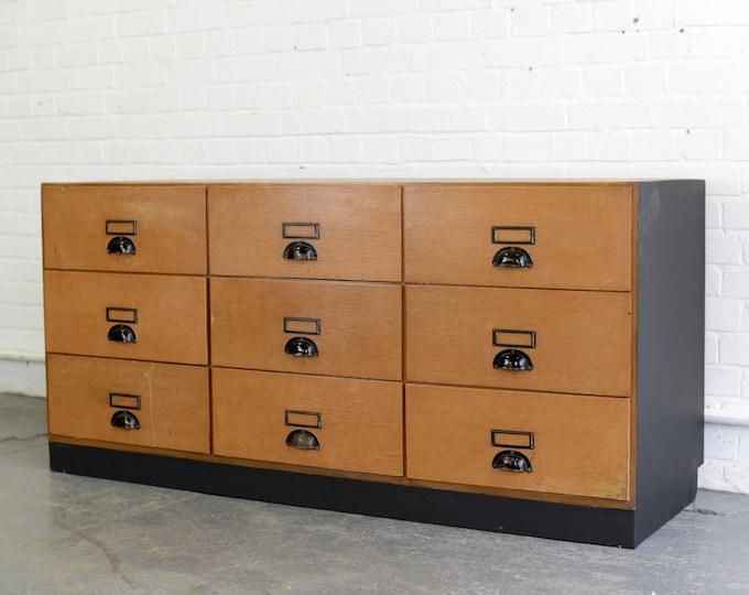 Solicitors Document Cabinet Circa 1950s