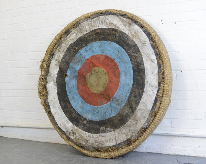 Large Archers Target By Jacques London Circa 1930s