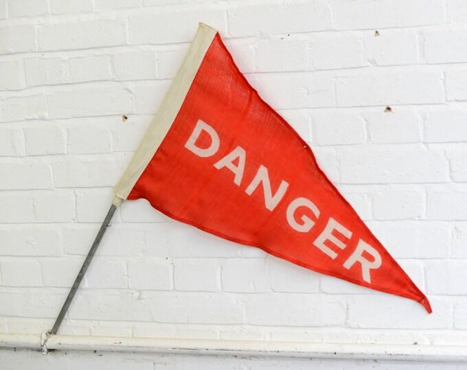 Linen Shooting Range Flag Circa 1950s