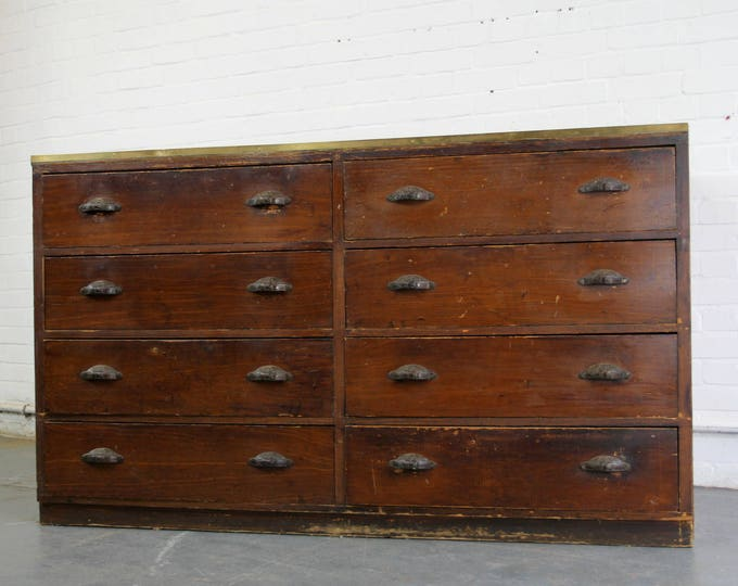 Early 20th Century Dutch Tailors Drawers Circa 1900
