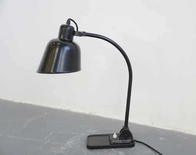 Modernist Desk Lamp By Koranda Circa 1920s