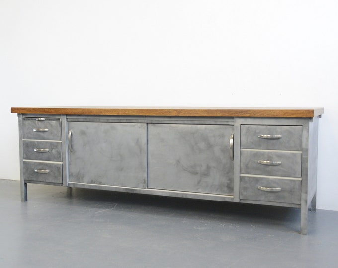 Industrial Bakers Cabinet By Mauser Circa 1930s
