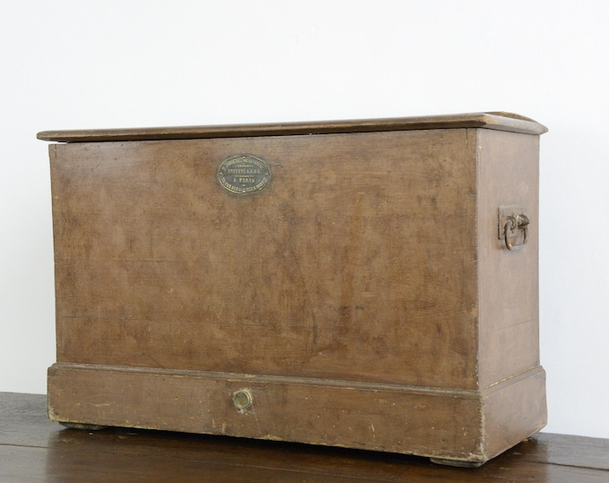 19th Century French Cool Box By F Fouche Paris