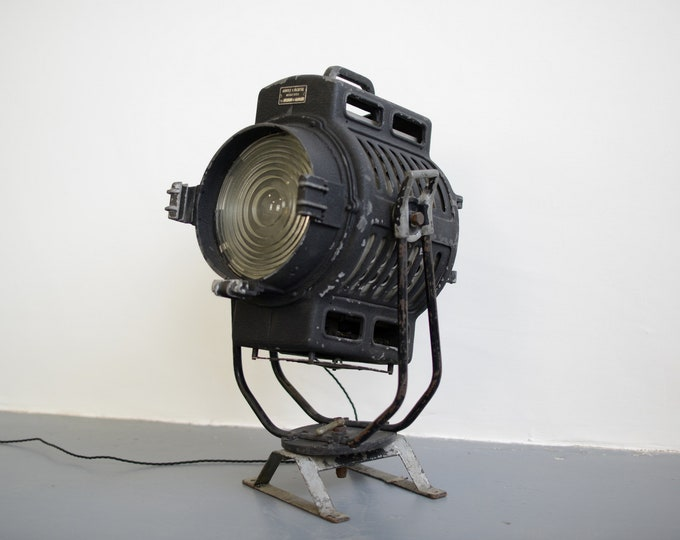 Floor Standing Spotlight By Arnold & Richter Circa 1940s