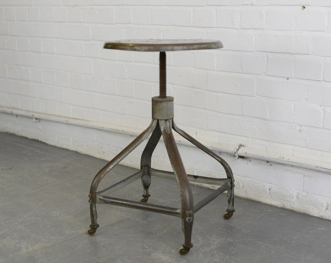 Industrial Stool By Nicolle Circa 1940s