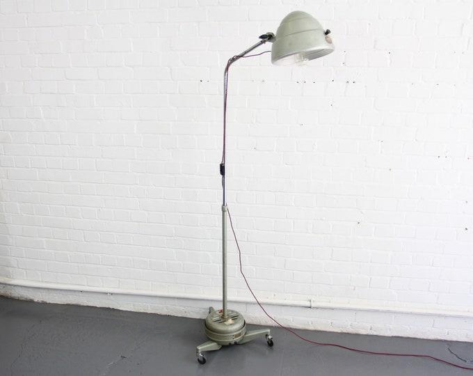 Floor Standing Medical Lamp By Hanovia Circa 1950s