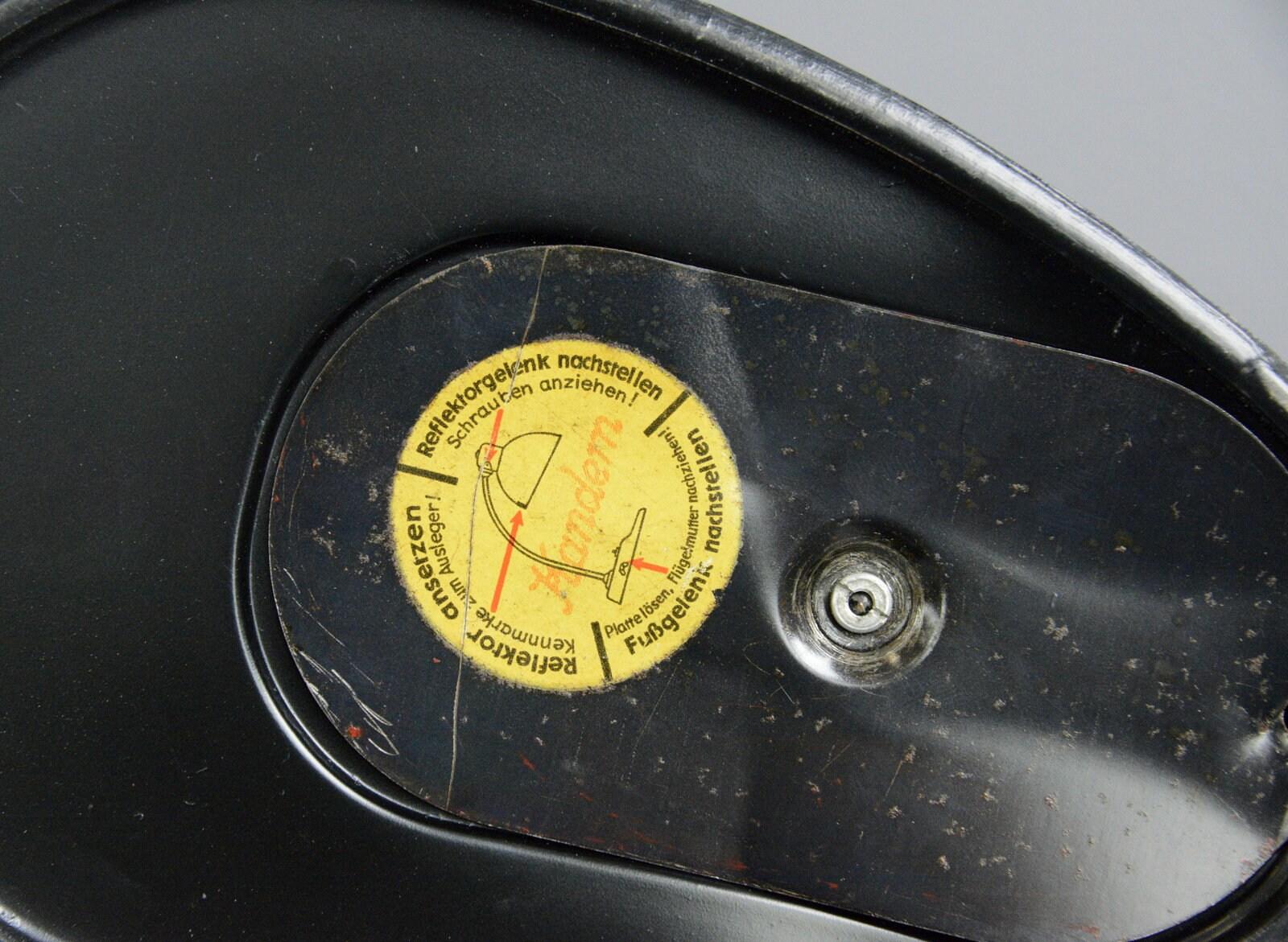 Kandem 1115 Lampade Da Tavolo Con Base In Vetro Pressato