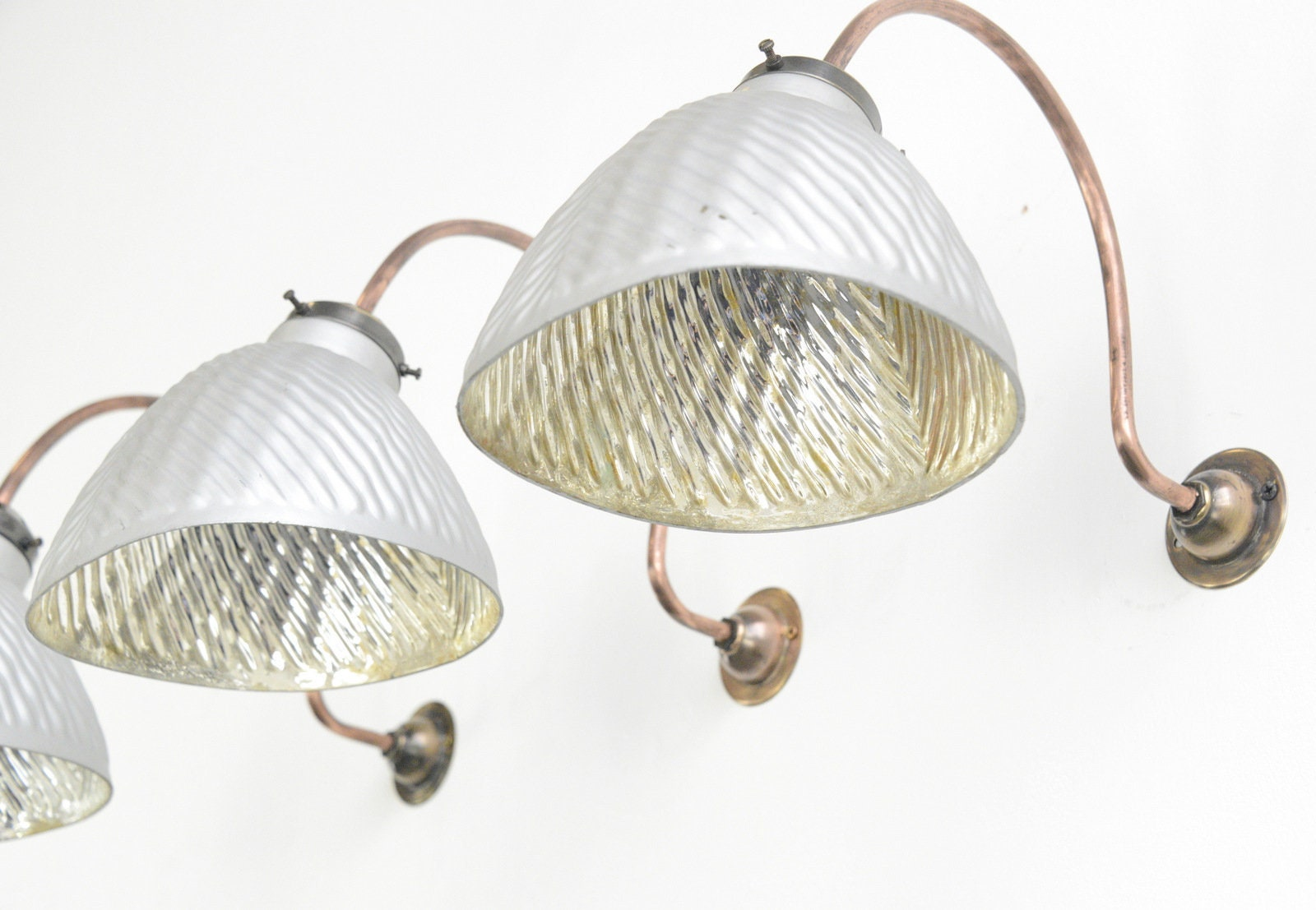 Wall Mounted Mercury Lights Circa 1930s