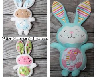 Personalized Bunny Rabbit, Monogrammed child friendly bunny, Personalized stuffed animal