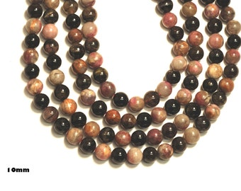 """Multicolor Tourmaline Round Beads 4-5mm, 9mm, 12mm, 15-16""""L"""