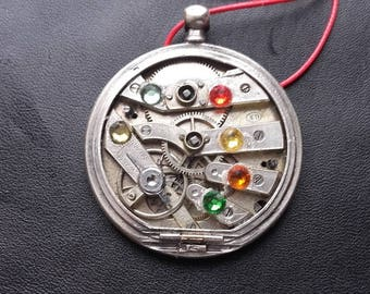 Pocket Watch movement pendant