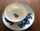 Dr. Wall Worcester Teacup and Saucer
