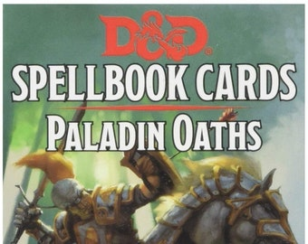 D&D 5th Edition: Spellbook Cards - Paladin Oaths - Gale Force 9