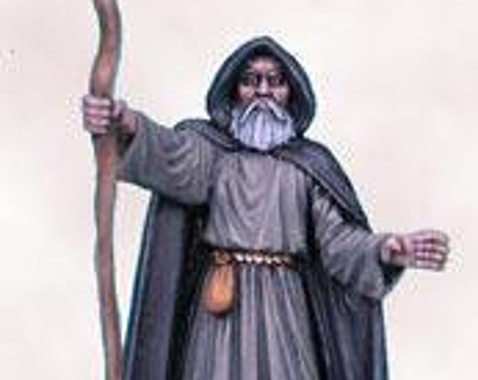 Elmore Masterworks: Castle Of Deception, Male Wizard - 1127 - Dark Sword Miniatures