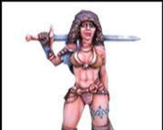 Elmore Masterworks: Journey To The Gathering, Female Fighter - 1124 - Dark Sword Miniatures