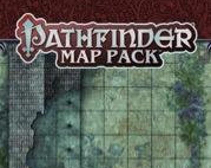 Pathfinder RPG: Map Pack - Ruined Village - Paizo Publishing