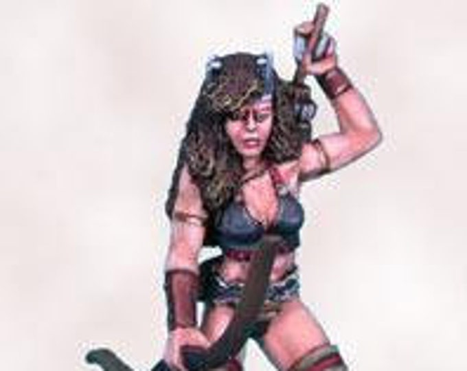 Elmore Masterworks: Castle Of Deception, Female Archer - 1126 - Dark Sword Miniatures