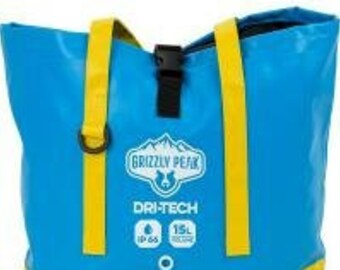 15L Dri-Tech Waterproof Beach Tote Dry Bag - Grizzly Peak