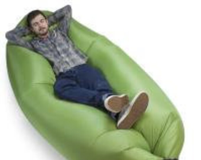 Inflatable Camping Couch, Moss - Grizzly Peak