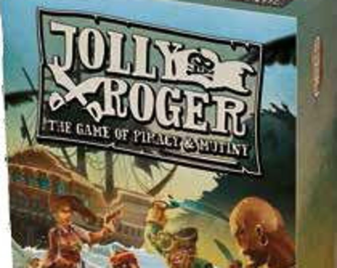 Jolly Roger:  The Card Game of Piracy and Mutiny - Ares Games