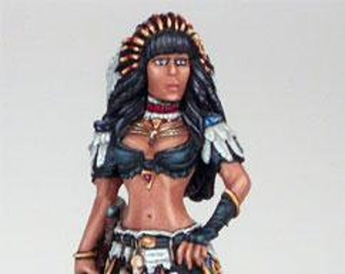 Elmore Masterworks: Last Dragon, Female Mage - 1158 - Dark Sword Miniatures