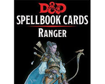 D&D 5th Edition: Spellbook Cards - Ranger - Gale Force 9